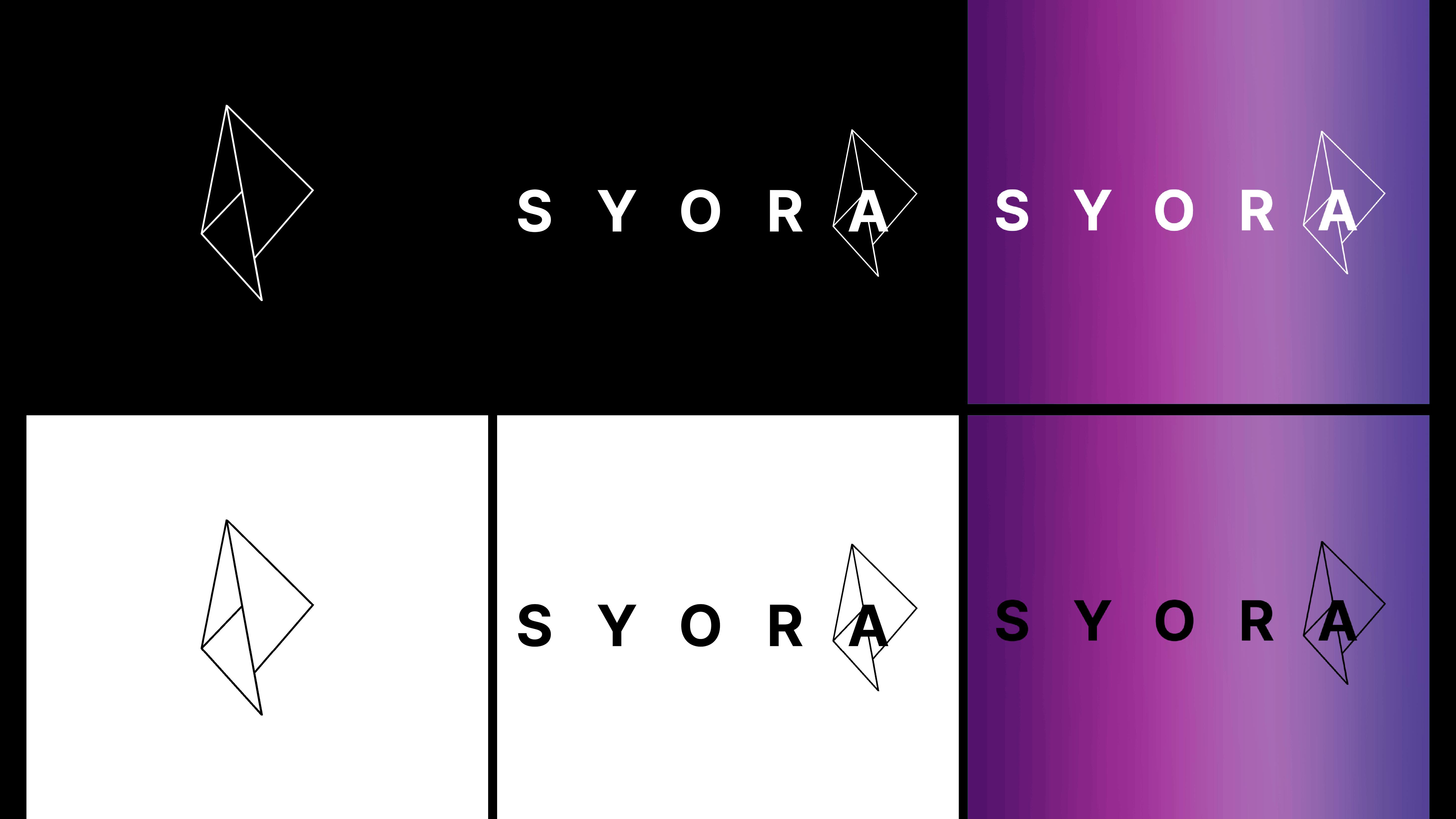 SYORA prägnante Logo Gestaltung