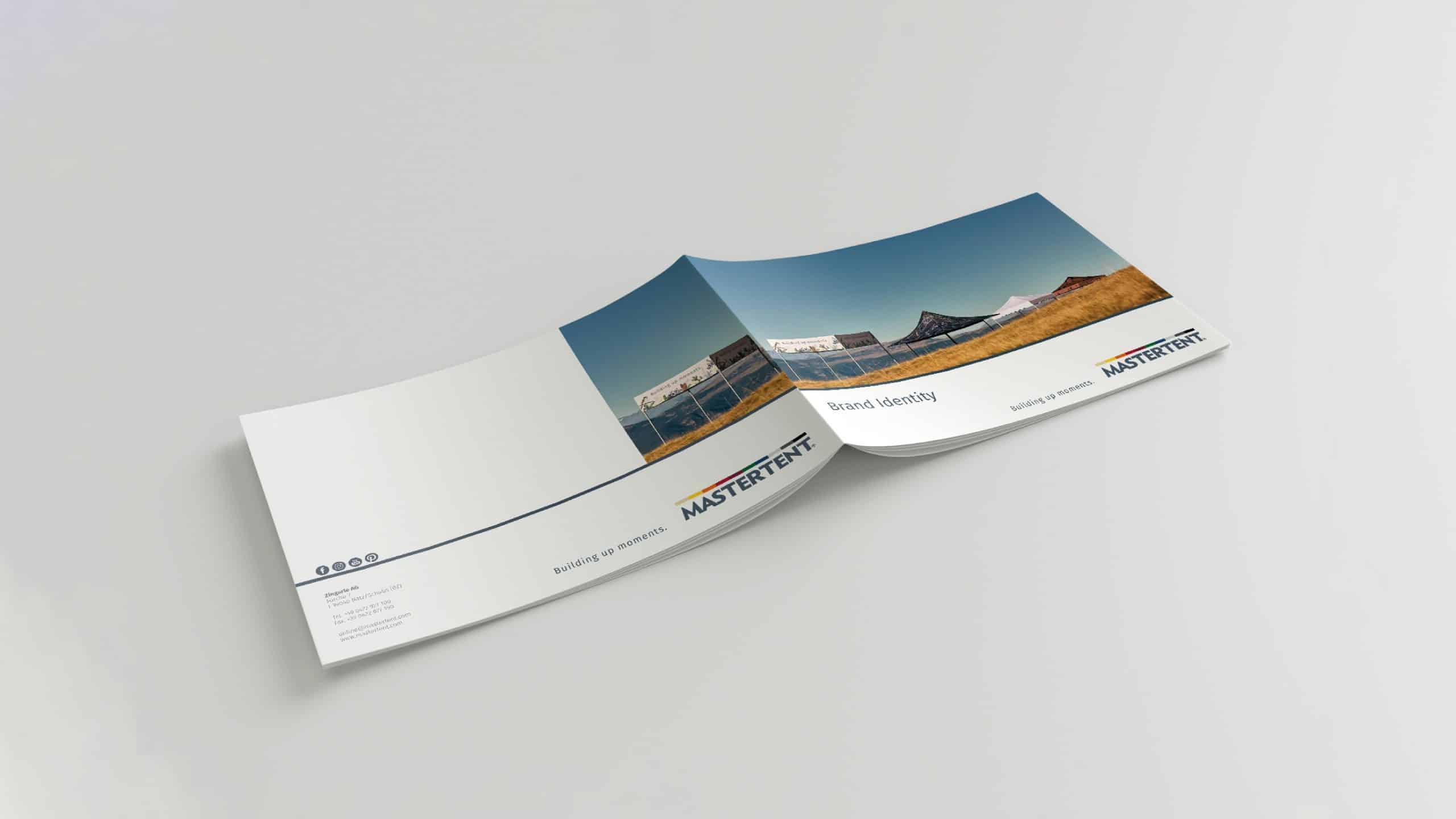 Wir gestalten deinen Design Guide, Produktkatalog oder Flyer. Die Produktion übernehmen wir auch!