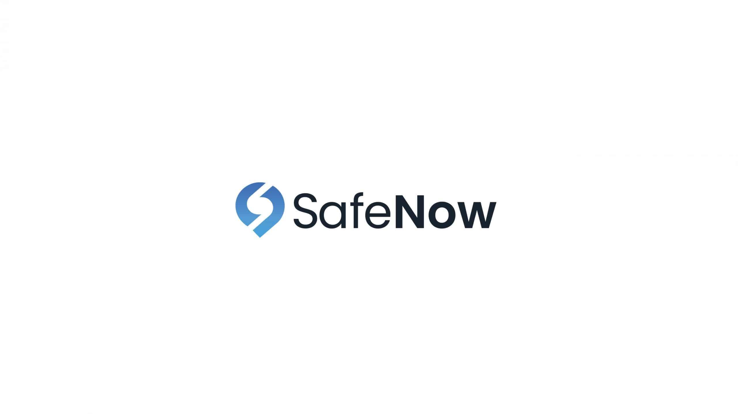 SafeNow Logo Gestaltung | Start-Up Pitchdeck