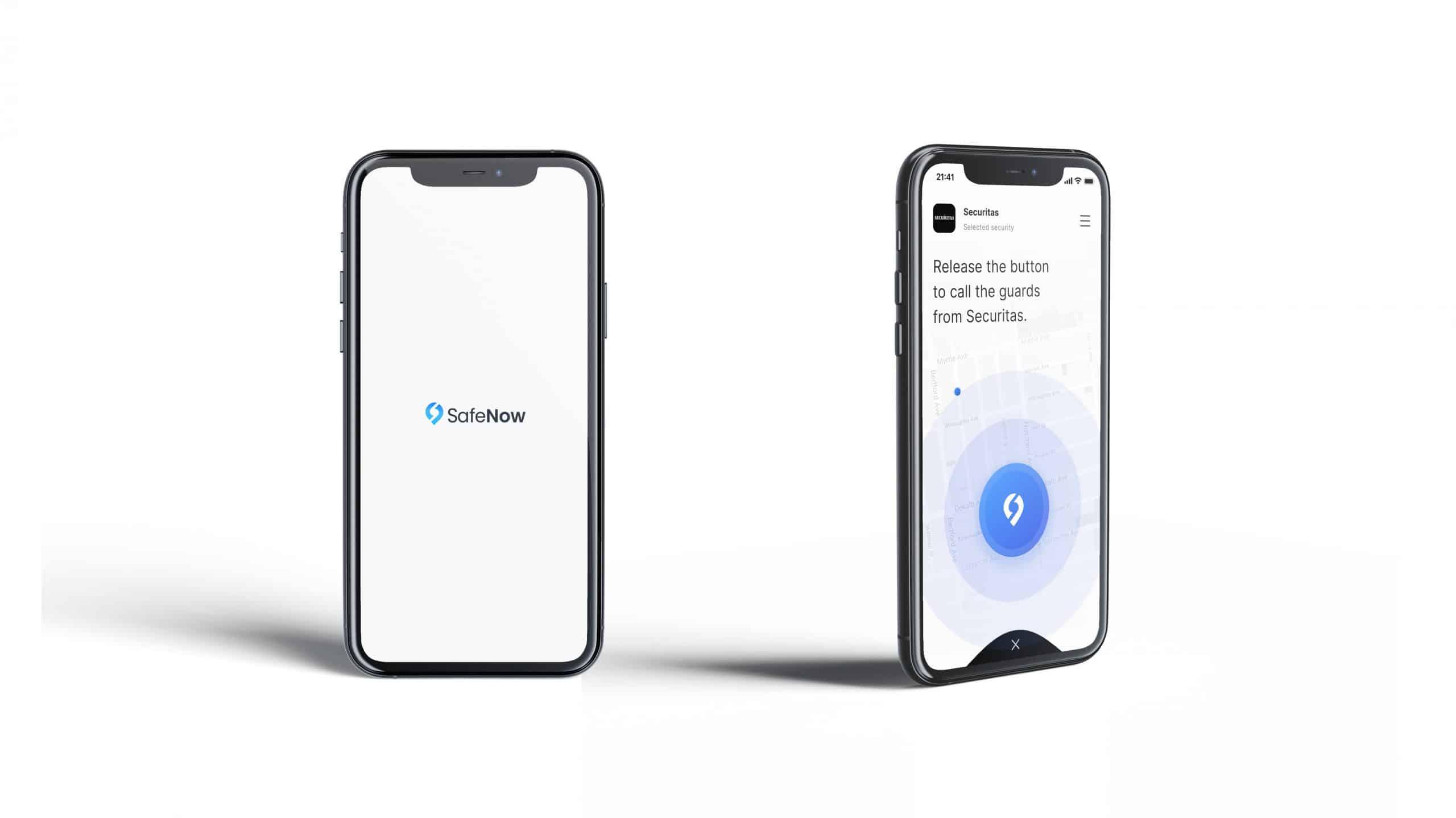 SafeNow Screen Design, Start-Up Pitchdeck