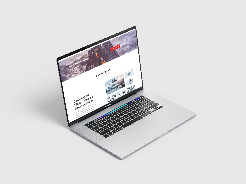 Branding Prozess Homepage