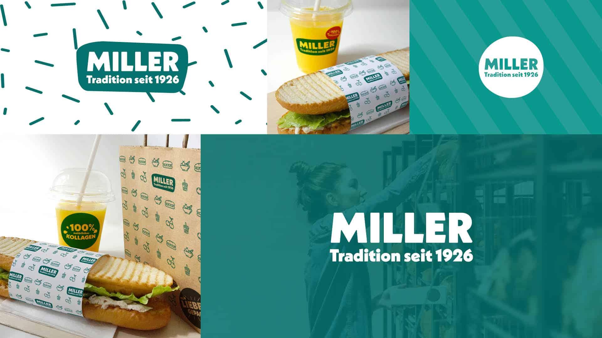 MILLERS Logo Zusammenstellung | BONFIRE GmbH
