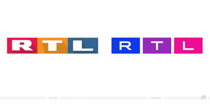 RTL hat sein Logo verändert - RTL Redesign